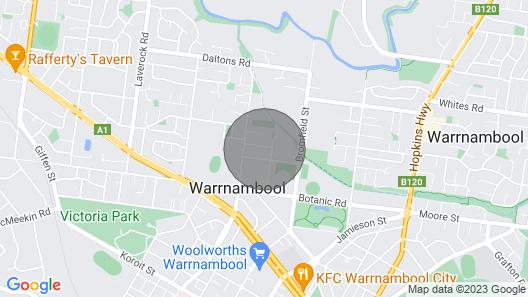 Comfort on Conns - Warrnambool, VIC Map