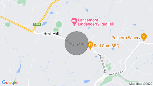 Butterfly Red Hill Farmhouse Map