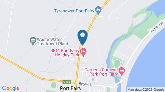 Port Fairy Holiday Park Map