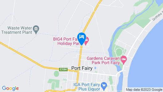 BIG4 Port Fairy Map
