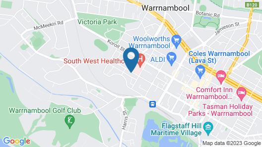 Coastal Vibe Apartments Map