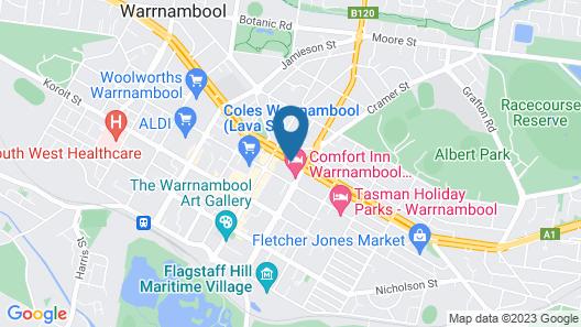 Mid City Warrnambool Map