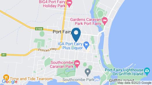 Ashmont Motor Inn & Apartments Map