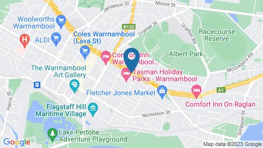 Mahogany Motel Map