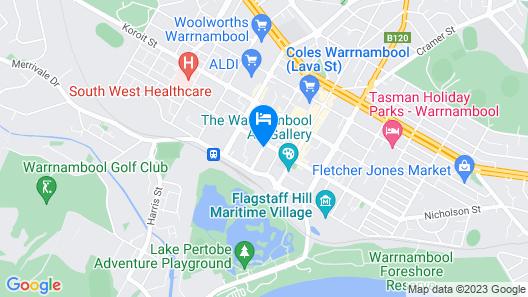 Comfort Inn Western Map