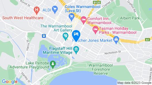 Warrnambool Cbd Townhouses Map