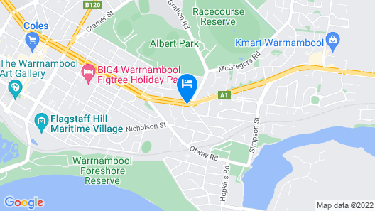 Comfort Inn On Raglan Map