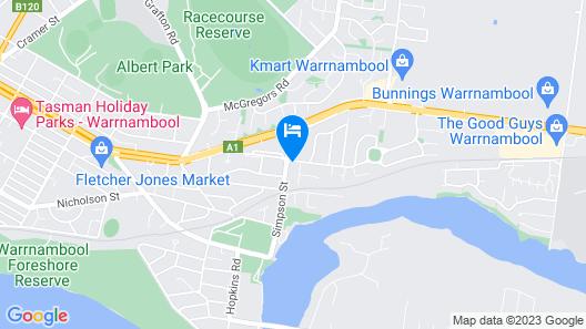 Turn-in Motel Map