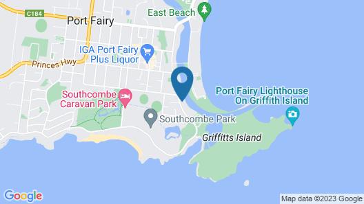 Edge17 Port Fairy Wharf Map