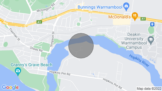 Nevertire - Warrnambool, VIC Map