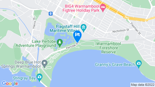 Surfside Holiday Park Map