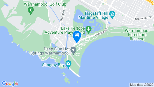Discovery Parks – Warrnambool Map