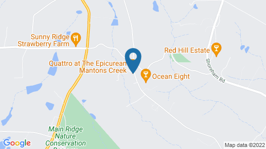 Mantons Creek Estate & Lodge Map