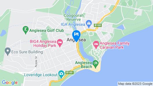Great Ocean Road Resort Map