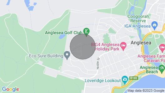 Akora - At Anglesea Map