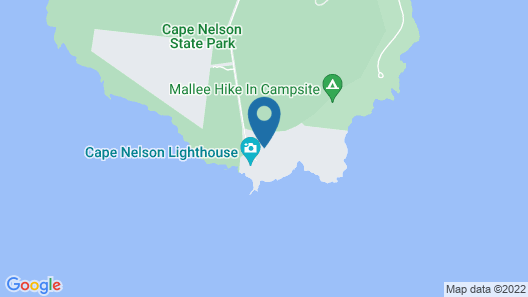 Cape Nelson Lighthouse Map