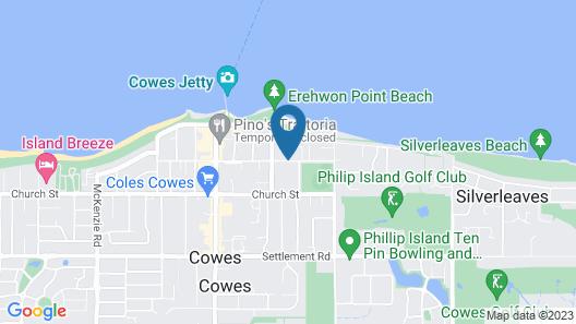 Seahorse Motel Map