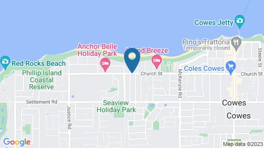 Apartments at Glen Isla Map