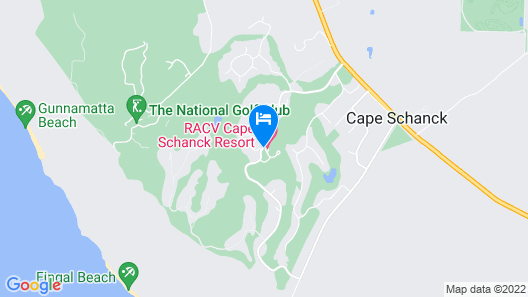 RACV Cape Schanck Resort Map