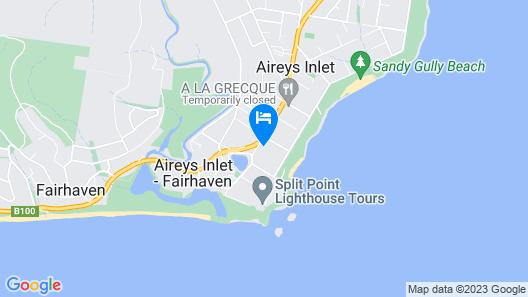 Aireys Inlet Getaway Resort Map