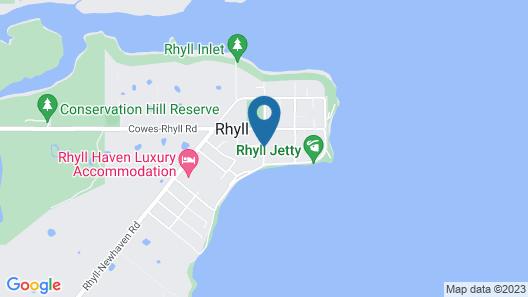 Oak Tree Lodge Map