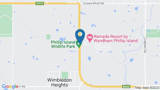 Ramada Resort by Wyndham Phillip Island Map