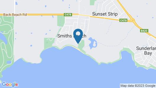 Beachwood Luxury Villa Map