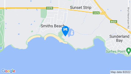 Clifftop Boutique Accommodation Map