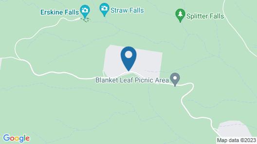 Lemonade Creek Cottages Map