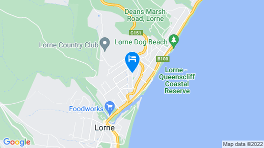 Chatby Lane Lorne Map