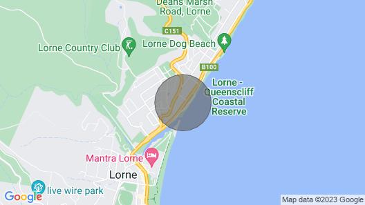 Azure - Absolute Beachfront Luxury, Wifi, Spa Map