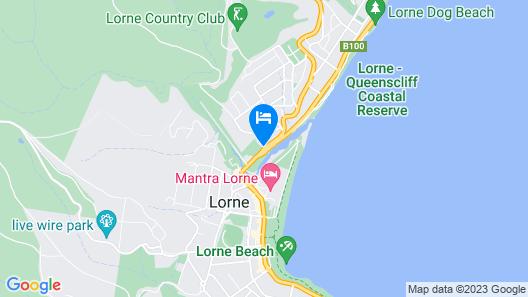 Lorne Coachman Inn Map