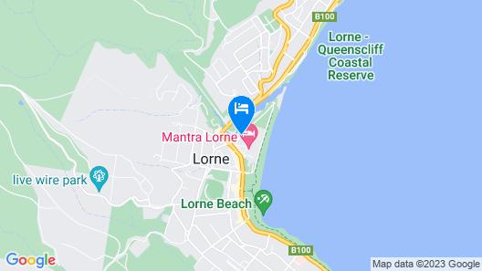 Mantra Lorne Map