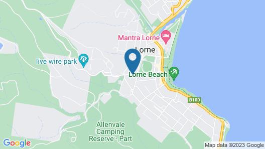 La Perouse Lorne Map