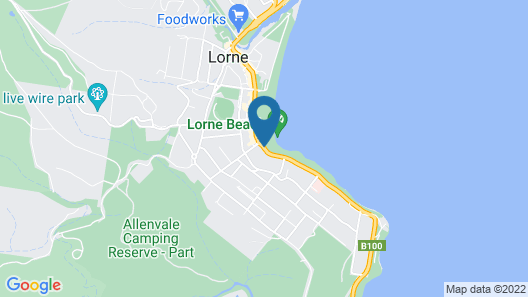 Lorne Hotel Map