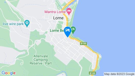 Lorne World Map