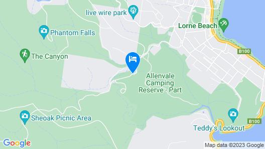 Allenvale Map