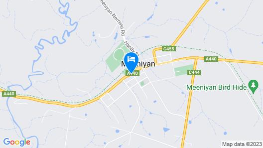 Meeniyan Motel Map