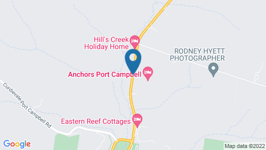 Anchors Port Campbell Map