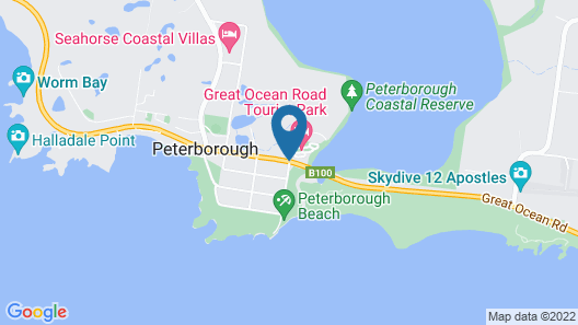 Great Ocean Road Tourist Park Map