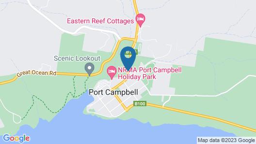Best Western Great Ocean Road Inn Map