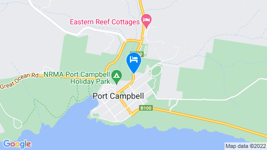 Best Western Great Ocean Road Inn Map