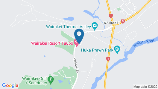 Wairakei Resort Taupo Map