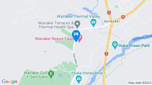 Wairakei Resort Taupo Map