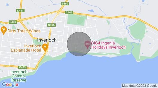 Beach House ON Bayview Map