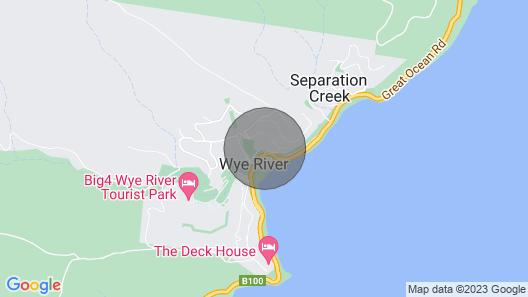 Wye Dream - Wye River Beach House - 200 Metres to Beach! Map