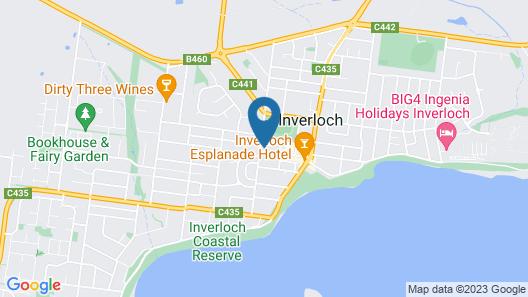 Inverloch Central Motor Inn Map