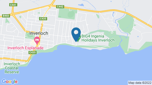 Ingenia Holidays Inverloch Map