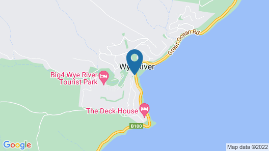 BIG4 Wye River Holiday Park Map