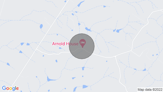 Arnold House - Beautiful Country Retreat - The Anastasia Suite Map